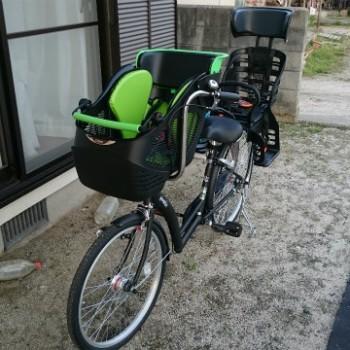 オススメ子供乗せ自転車外観