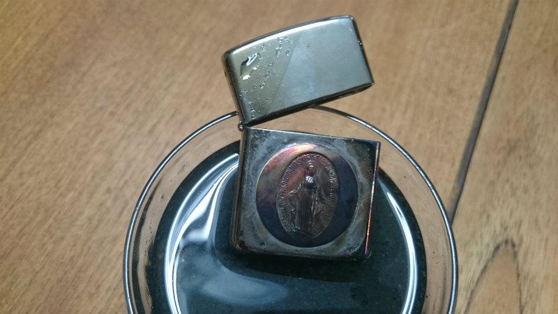 真鍮のいぶしは硫黄成分が効く