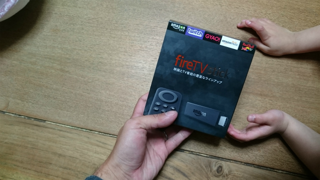 amazon fire tv stick購入