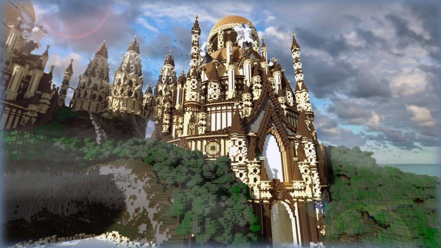 minecraft____sandstone_castle_by_matsheiberg-d6z0see