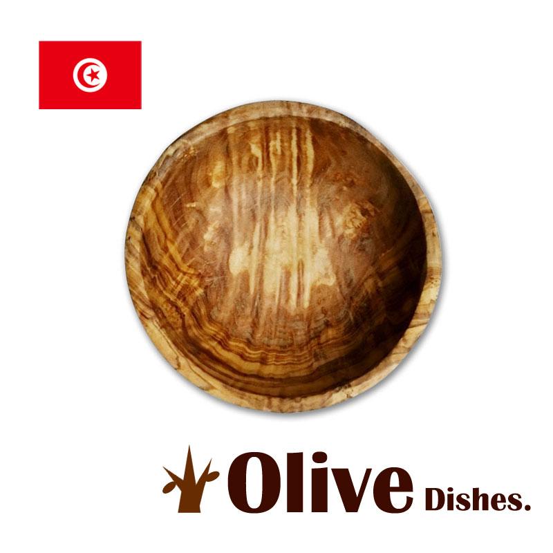オリーブの木の食器スープボウル