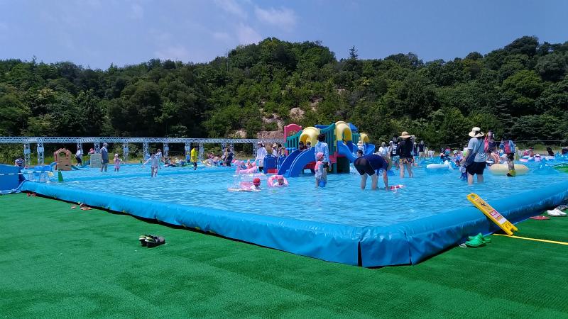 おもちゃ王国水遊びプール