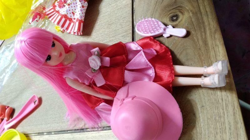 おもちゃ王国で作ったリカちゃん人形
